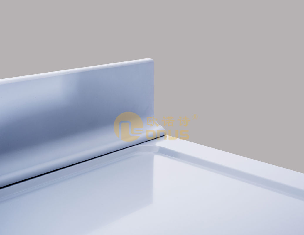 Laboratory Furniture Epoxy Resin Worktop With Molded Back Splash