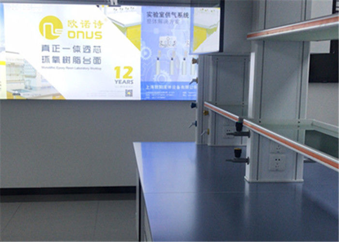 Laboratory Furniture Epoxy Resin Worktops With New Blue Color
